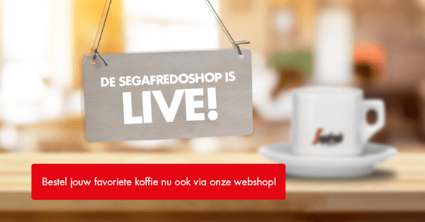 De Segafredoshop is live!